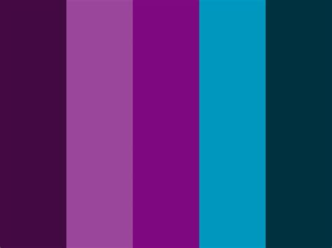 purple color combination quot purple peacock quot purple bluish teal color palette my