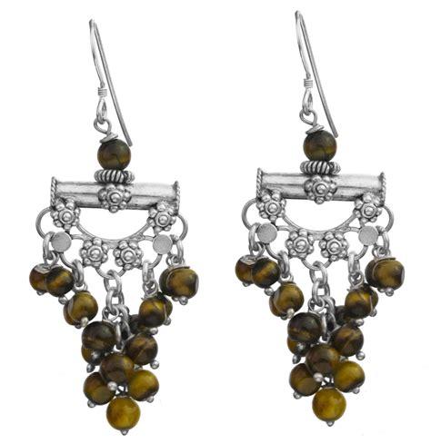 gemstone chandelier earrings gemstone chandelier earrings