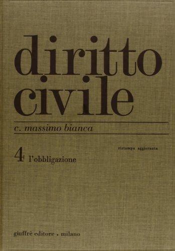 libreria quaglia diritto civile 4 l obbligazione libreria quaglia
