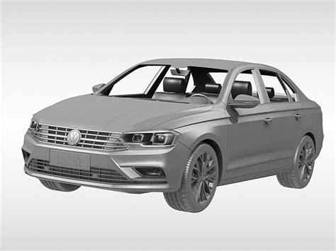 volkswagen bora 2016 volkswagen bora 2016 3d model max obj 3ds fbx c4d ma