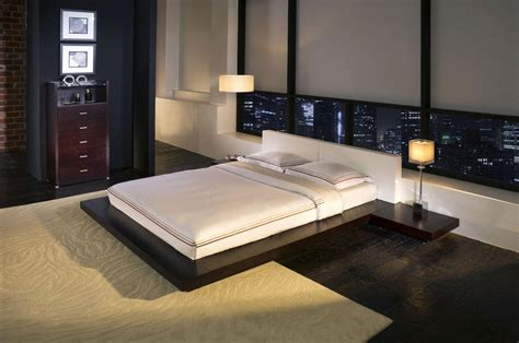 japanese style bed  combination  simplicity