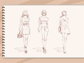 stylish designs how to sketch fashion designs 5 steps with pictures