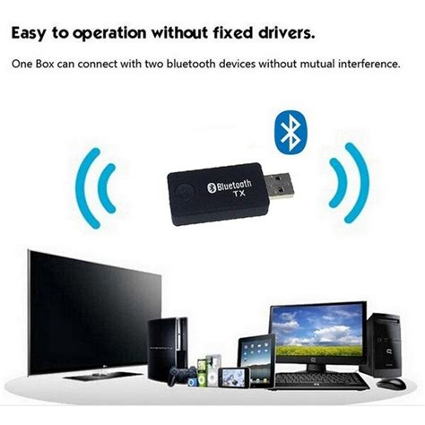 Tv Bluetooth bluetooth audio transmitter for computer tv usb