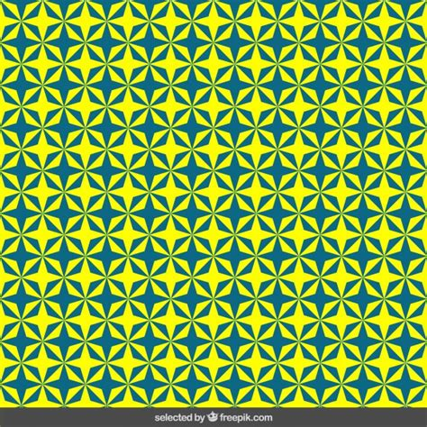 yellow pattern ai blue and yellow stars pattern vector free download