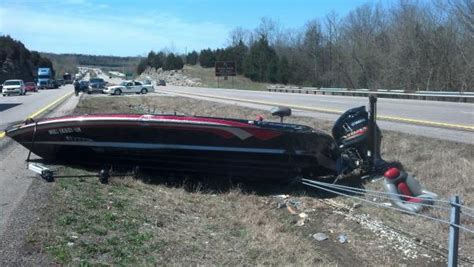 boat crash get down for what bass boats on the highway bassmaster