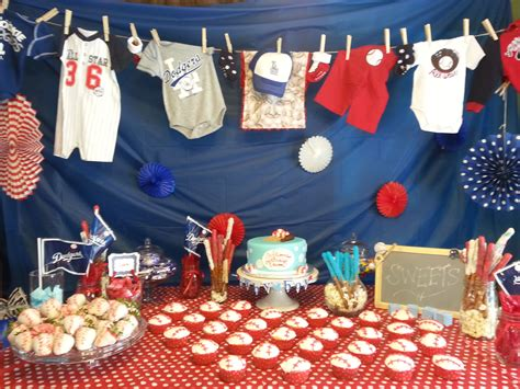 Baseball Baby Shower Decoration Ideas by