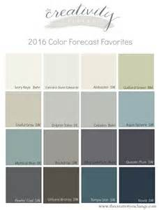 interior paint colors 2016 favorite colors and recap from the 2016 color forecasts