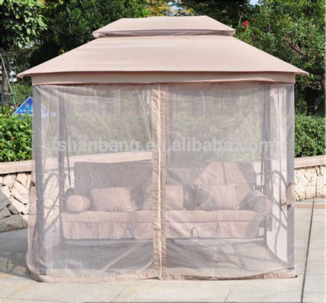 gazebo swing bed luxury two function three seat outdoor gazebo swing chair