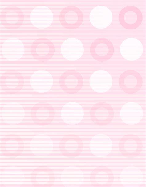 free polka dots letterhead stationery free printable