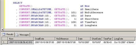 format date field in sql converting access queries to sql server databasejournal com