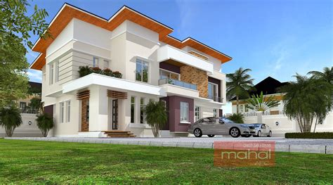 3 Bedroom Duplex Designs In Nigeria by Contemporary Nigerian Residential Architecture