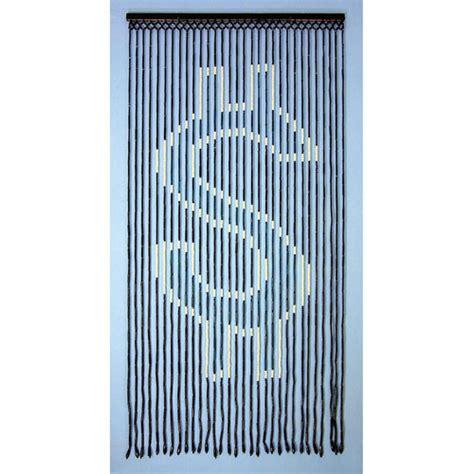 gateways beaded door curtains gateways dollar sign wood beaded door curtain glow