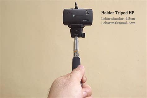 Tripod Hp Panjang monopod kamera digital atau handphone panjang 1 1 meter berat 198gr