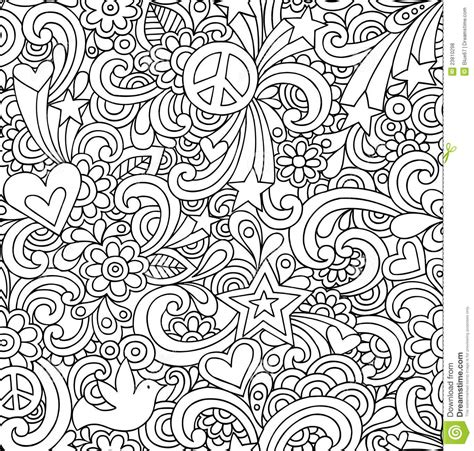 doodle pattern colouring doodle patterns colouring books coloring page