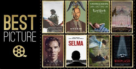 film recommended januari 2015 see the 2015 oscar best picture nominees in amc marathon