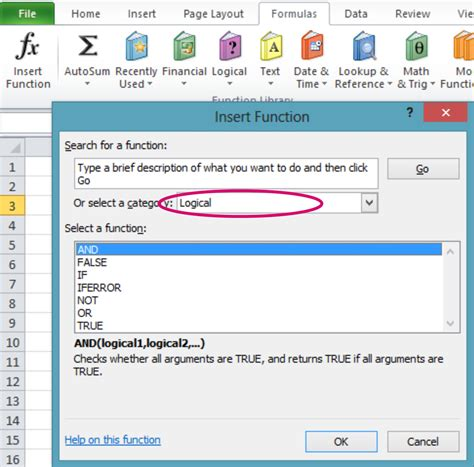 tutorial excel logical functions logical functions in excel 2010 tutorials tree learn