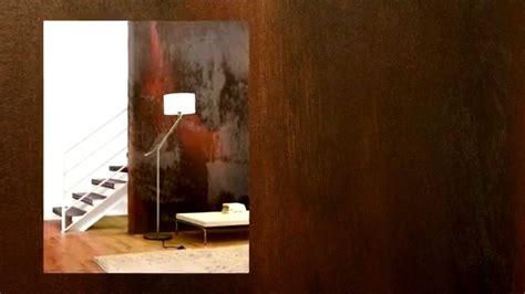 Verrostetes Metall Streichen by Wandgestaltung Rost Optik