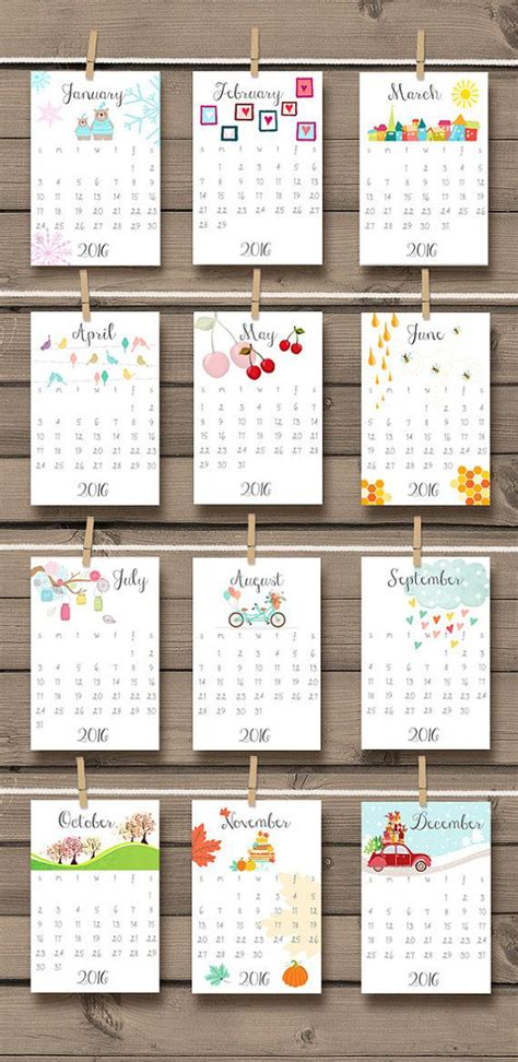 doodlebug calendar 15 genius diy wall calendar projects decor advisor