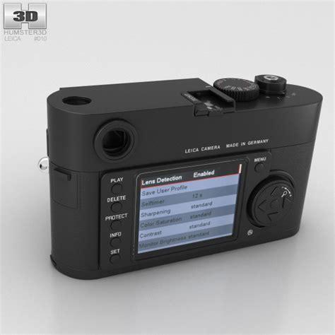 leica models leica m8 black 3d model hum3d
