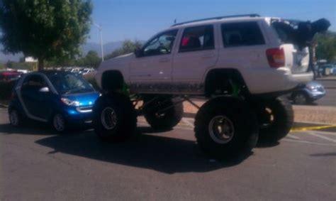 buy  custom lift monster jeep grand cherokee truck