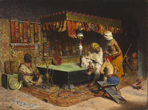 Interior Painting by File Jos 233 Villegas Cordero The Slipper Merchant