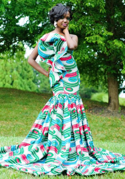 robe soiree en pagne 2015 african attire dresses designs 2018 for women
