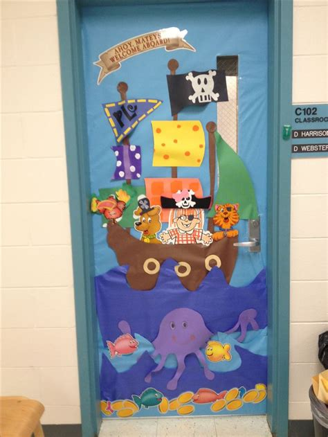 pirate themed door decorations 25 best ideas about pirate door on pirate