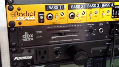 Bass Rack Compressor school analog compressor limiter best bass guitar studio rack gear dbx 163x review