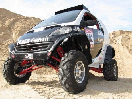 lifted smart car off road smart car smart car with lift kit i need this