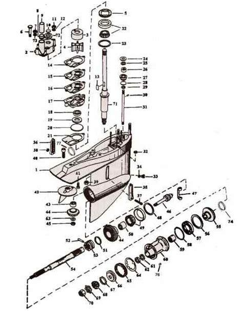 mercruiser alpha one outdrive diagram mercruiser alpha 1 parts drawing lower unit 1 34
