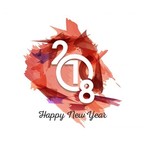 new year 2018 clothes modern new year 2018 design vector free
