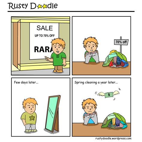 impulse buying house the great discount rusty doodle