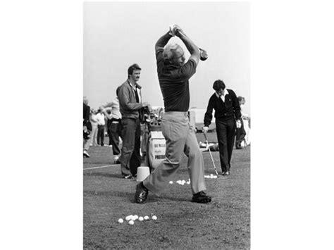arnold palmer golf swing impress your friends by making a ninja swing golfeneur