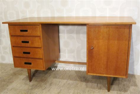 Bureau Jaren 50 Meubels Vintage Oretro Bureau ã E 50
