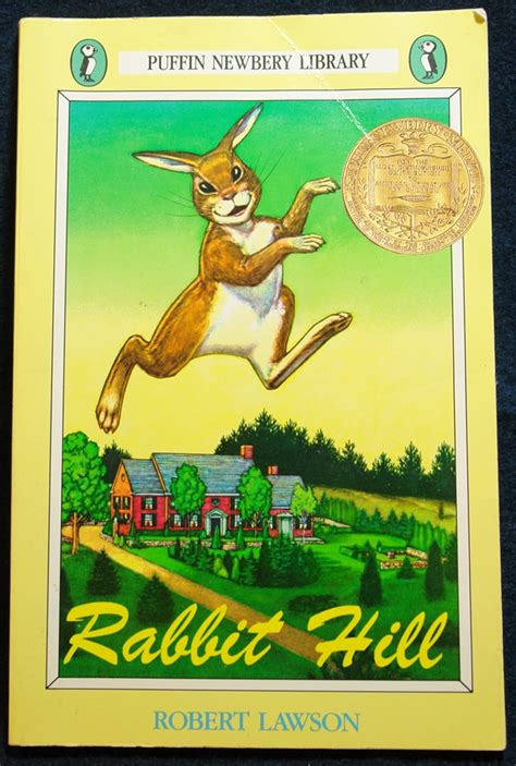 rabbit books rabbit hill by robert lawson newbery medal genesisarts
