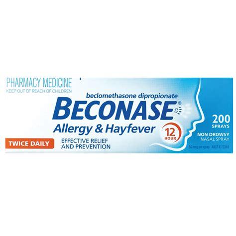 beconase hayfever nasal spray 200 doses chemist warehouse