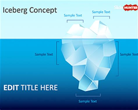 free ppt templates for entrepreneurship free the tip of the iceberg powerpoint template free
