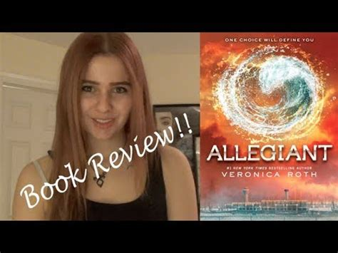 allegiant book report allegiant by roth book review
