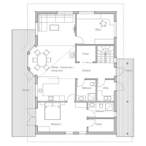 affordable small house plans affordable home plans affordable home plan ch34