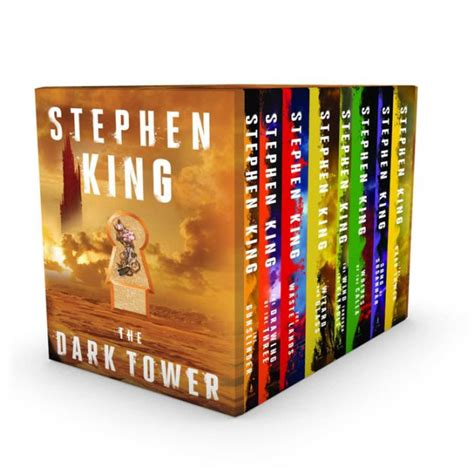 the on goal series box set books the tower 8 book boxed set by stephen king paperback