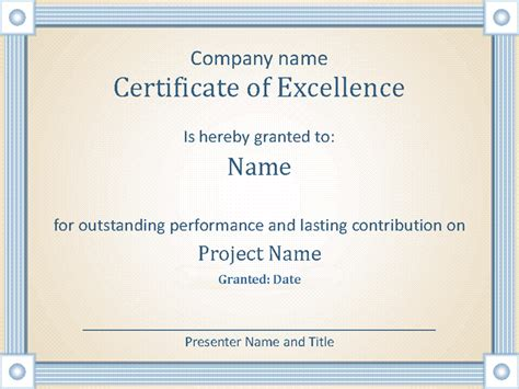 certificates for employees templates certificate of employee excellence office templates