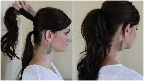 ways to wear long hair after 50 10 creative ways to wear a ponytail ma nouvelle mode
