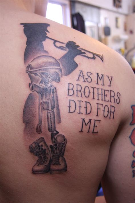 soldier cross tattoo marine cobra custom
