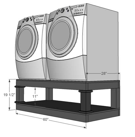 How To Build A Washer Pedestal diy washer pedestal with storage dreaming in pink boutique