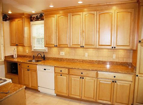 kitchen pictures with maple cabinets golden oak cabinets with white appliances maple arched
