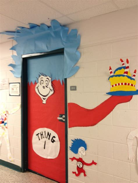 Thing On Door by Pin By Lori Crites On Dr Seuss