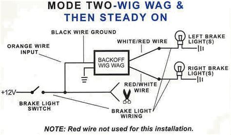 light wig wag wiring diagram sump wiring diagram
