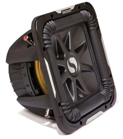 Kicker Sz 39 43 kicker s12l7d4 baric 12 quot dual 4 ohm 750 watt rms subwoofer with installation kit hpca