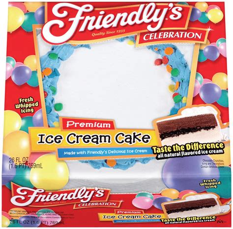 friendly s cake s new items