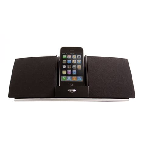 Isoundspa Speaker System For Ipods Is Also A Soothing Sound Station by Igroove Sxt Ipod Speaker System Klipsch